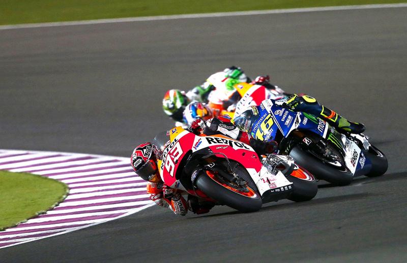 Foto Marquez MotoGP Qatar 2014