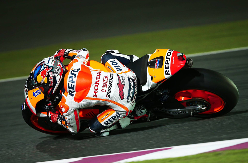 Foto Pedrosa MotoGP Qatar 2014
