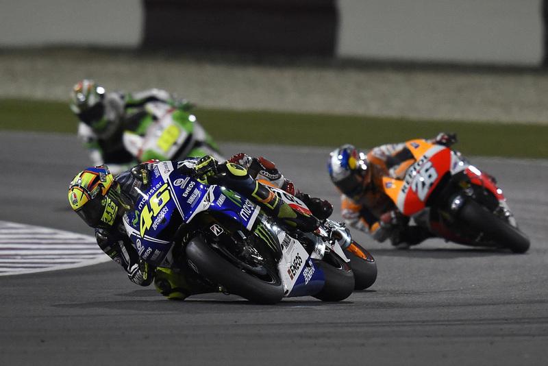 Foto Rossi MotoGP Qatar 2014