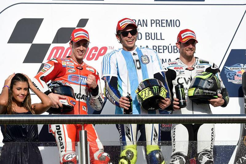 Foto Podio MotoGP GP Argentina 2015 1