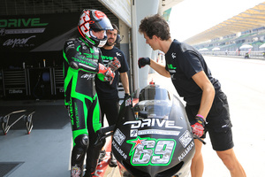 Foto Nicky Hayden Test Dia 3 Sepang 2014 4