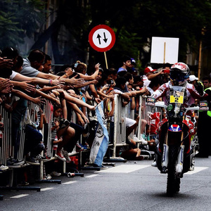 Foto Joan Barreda Team HRC Etapa1 2015