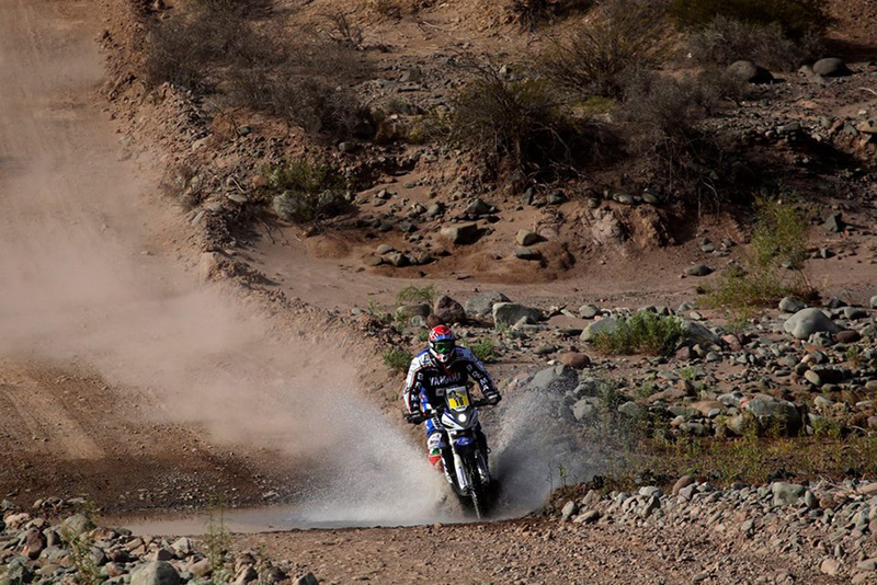 Foto Alessandro Botturi Yamaha Etapa3 Dakar 2015