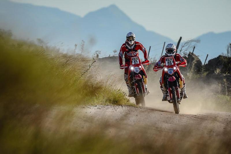 Foto Antonio Jimeno Rosa Romero Team Himoinsa Etapa2 Dakar 2015