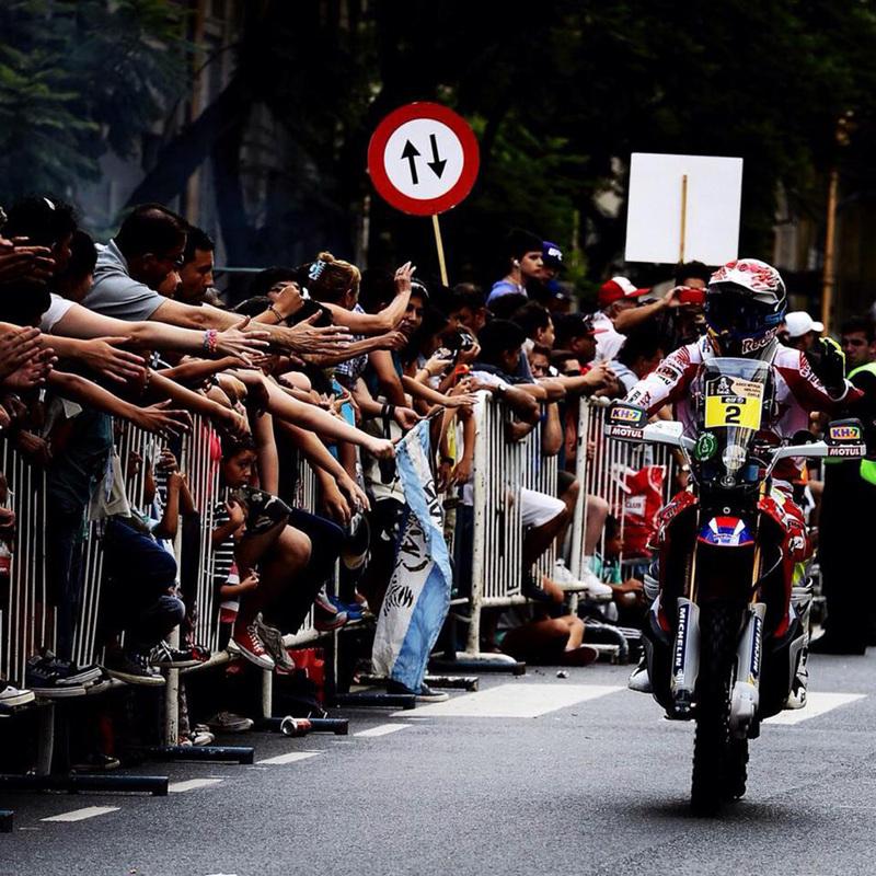 Foto Joan Barreda Team HRC Etapa1 2015