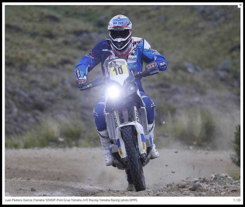 Foto Joan Pedrero Yamaha Etapa3 Dakar 2015