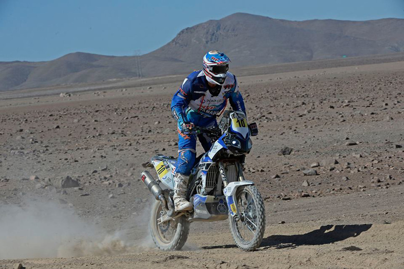 Foto Joan Pedrero Yamaha Etapa5 Dakar 2015