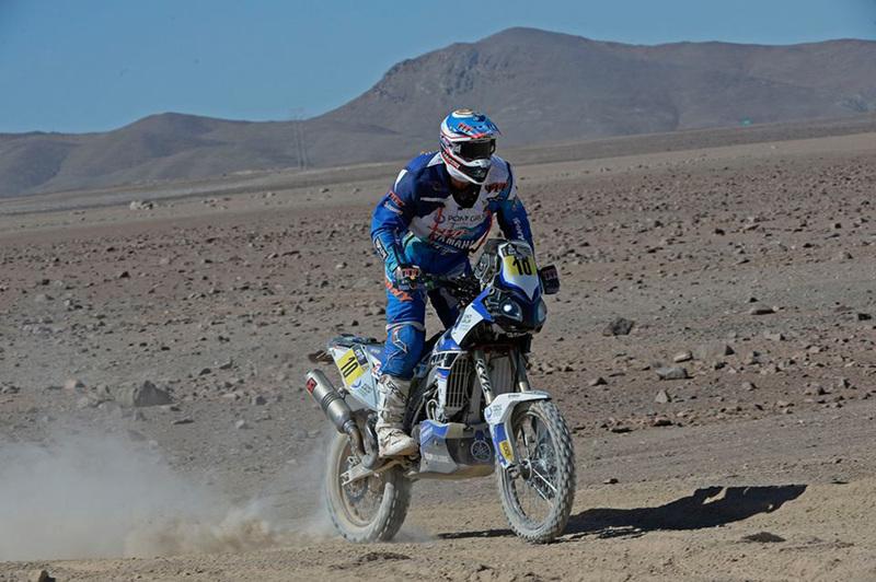 Foto Joan Pedrero Yamaha Etapa6 Dakar 2015