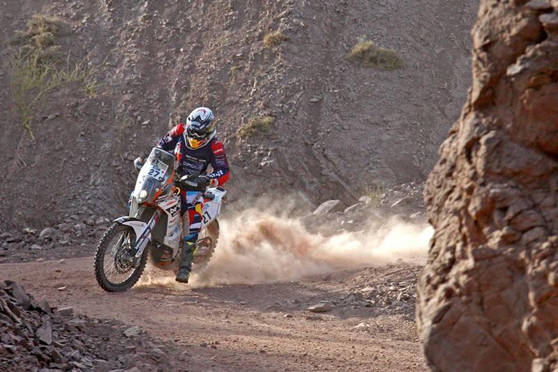 Foto Matthias Walkner KTM Etapa3 Dakar 2015