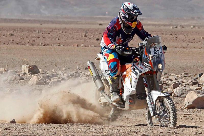 Foto Matthias Walkner KTM Etapa5 Dakar 2015