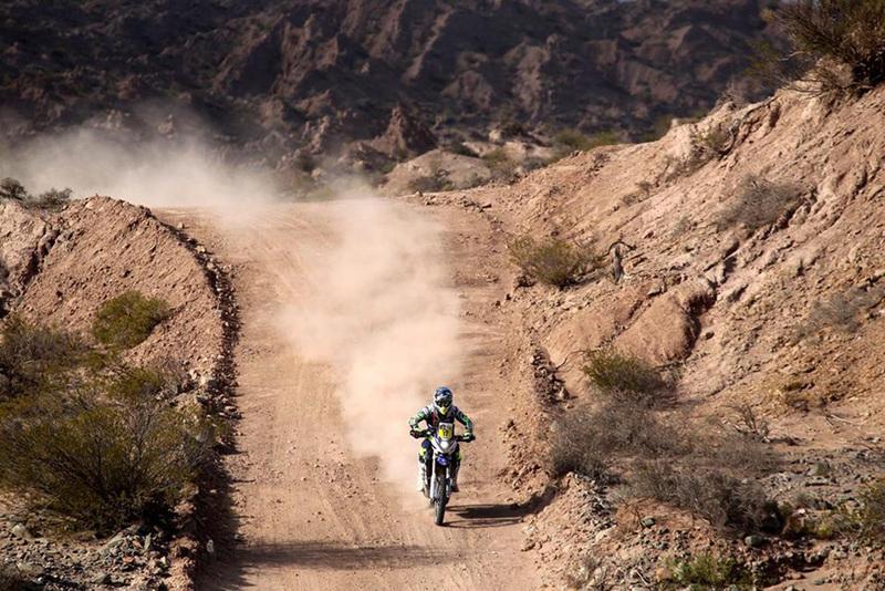 Foto Michael Metge Yamaha Etapa3 Dakar 2015