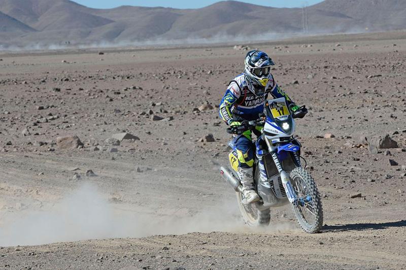 Foto Michael Metje Yamaha Etapa5 Dakar 2015