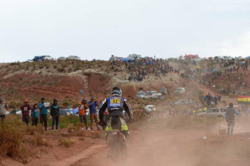Foto Michael Metje Yamaha Etapa7 Dakar 2015 1