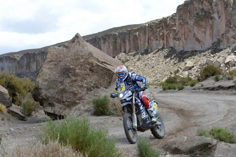 Foto Olivier Pain Yamaha Etapa10 Dakar 2015 1
