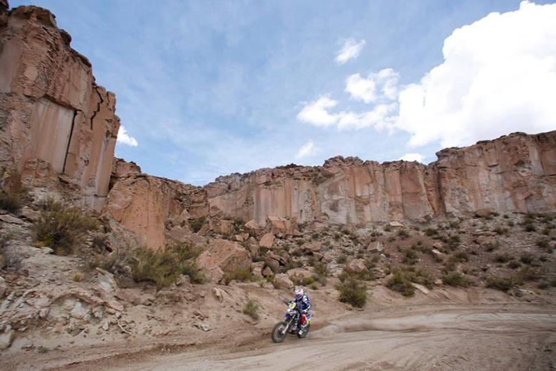Foto Olivier Pain Yamaha Etapa10 Dakar 2015 2