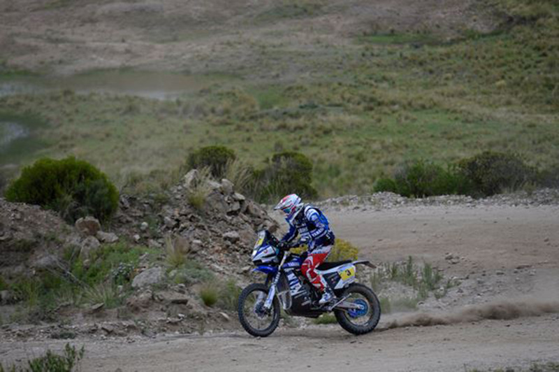 Foto Olivier Pain Yamaha Etapa2 Dakar 2015