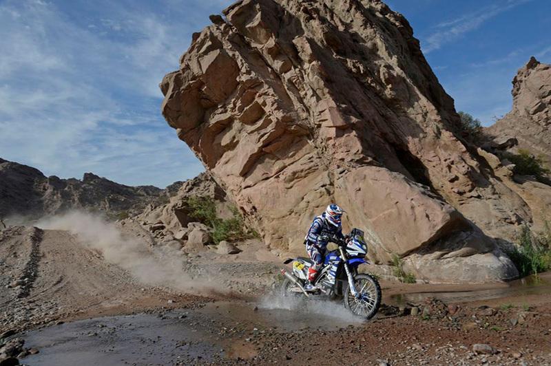 Foto Olivier Pain Yamaha Etapa3 Dakar 2015