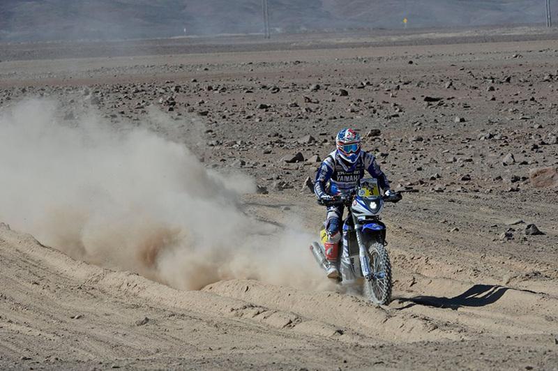 Foto Olivier Pain Yamaha Etapa5 Dakar 2015
