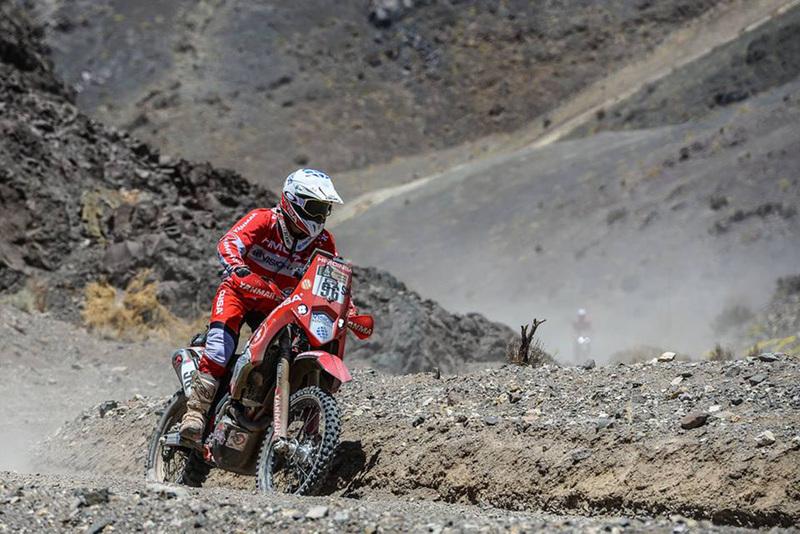 Foto Rosa Romero Team Himoinsa Etapa4 Dakar 2015