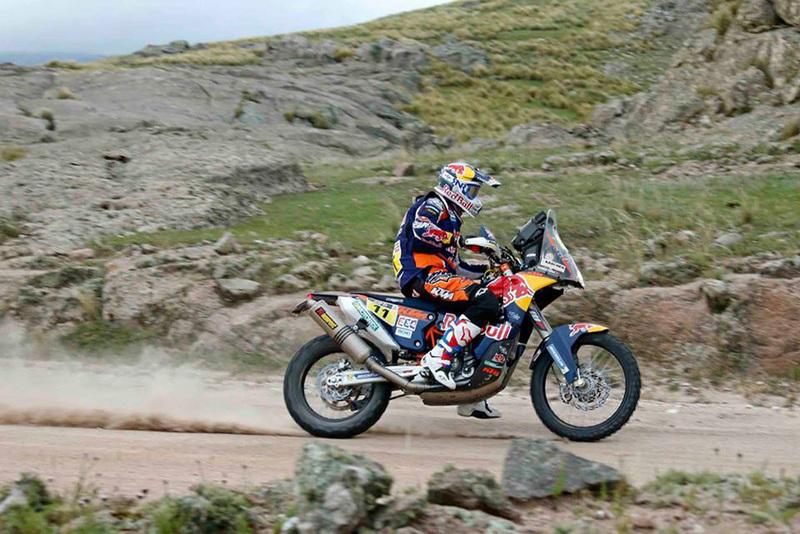 Foto Ruben Faria Red Bull KTM Etapa2 2015