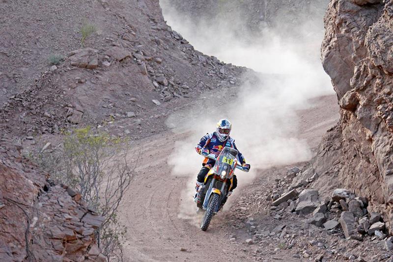 Foto Ruben Faria Red Bull KTM Etapa3 Dakar 2015