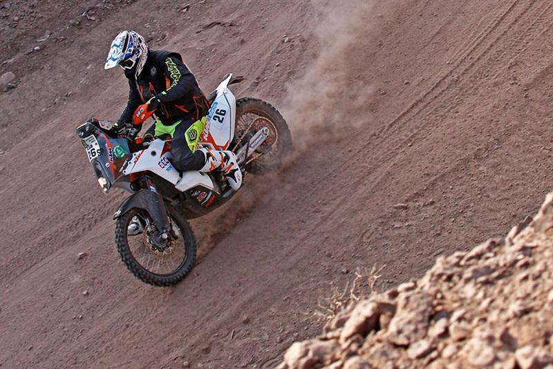 Foto Toby Price KTM Etapa3 Dakar 2015