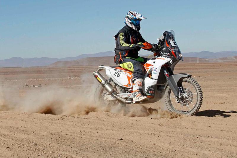 Foto Toby Price KTM Etapa5 Dakar 2015