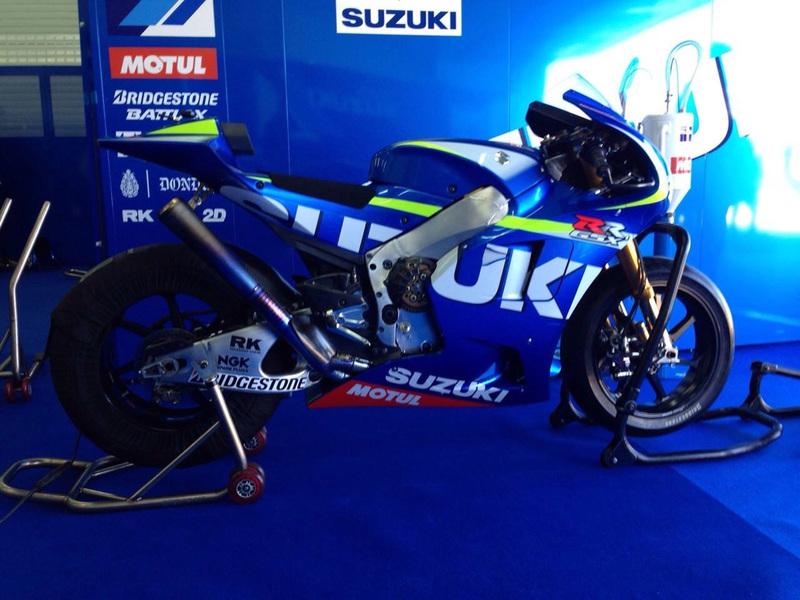 Foto Suzuki GSX RR MotoGP 2015
