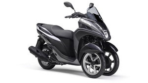 Foto Yamaha Tricity 2015 Frontal Derecho 026