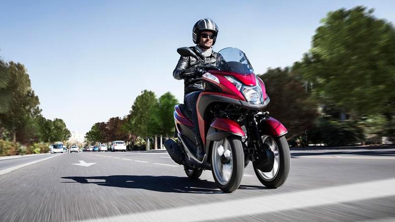 Foto Yamaha Tricity 2015 Dinamica 007