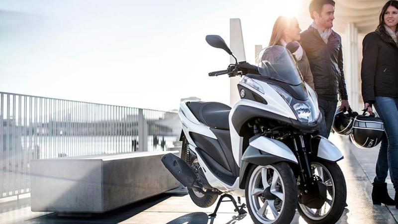 Foto Yamaha Tricity 2015 Exterior 017