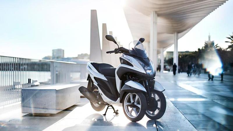 Foto Yamaha Tricity 2015 Exterior 018