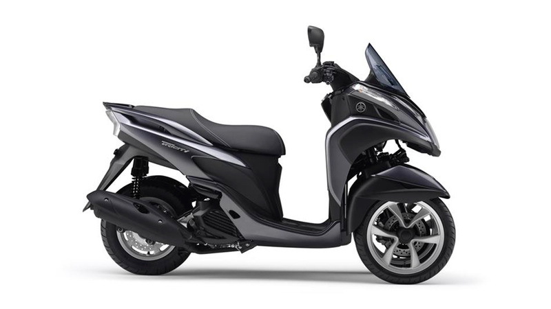 Foto Yamaha Tricity 2015 Lateral Derecho 027