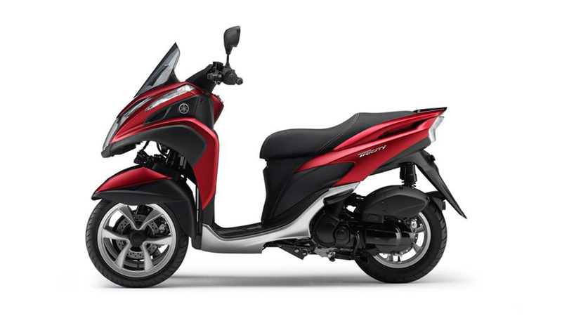 Foto Yamaha Tricity 2015 Lateral Izquierdo 033