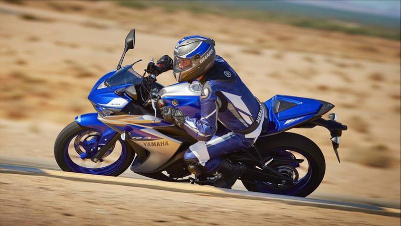 Foto Yamaha YZF R320 2015 Dinamica 3
