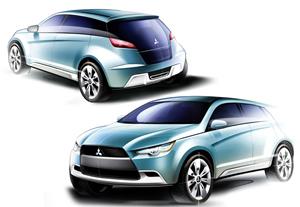 coche concepto de mitsubishi