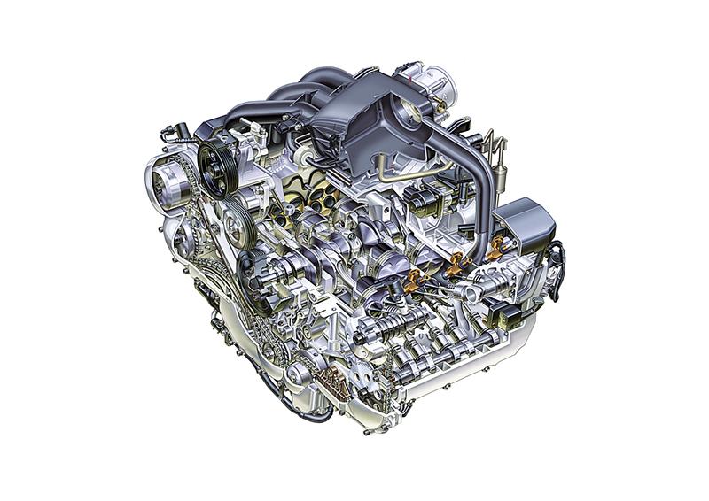 radiografia motor subaru H6