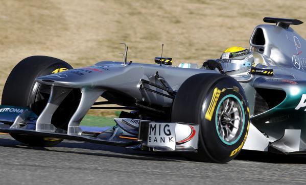 Equipe Mercedes GP de Formula 1 de 2011 - by sport.motorgiga.com