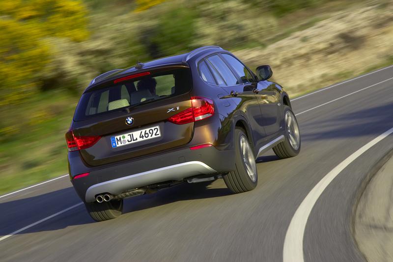 BMW X1 - Trasera