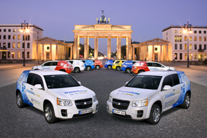 Vehiculos de hidrógeno (o FCV) en Berlín