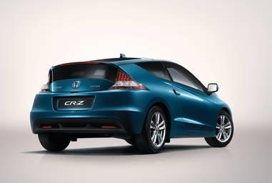 Honda CR-Z híbrido, trasera
