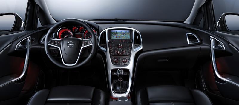 Nuevo Opel Astra salpicadero