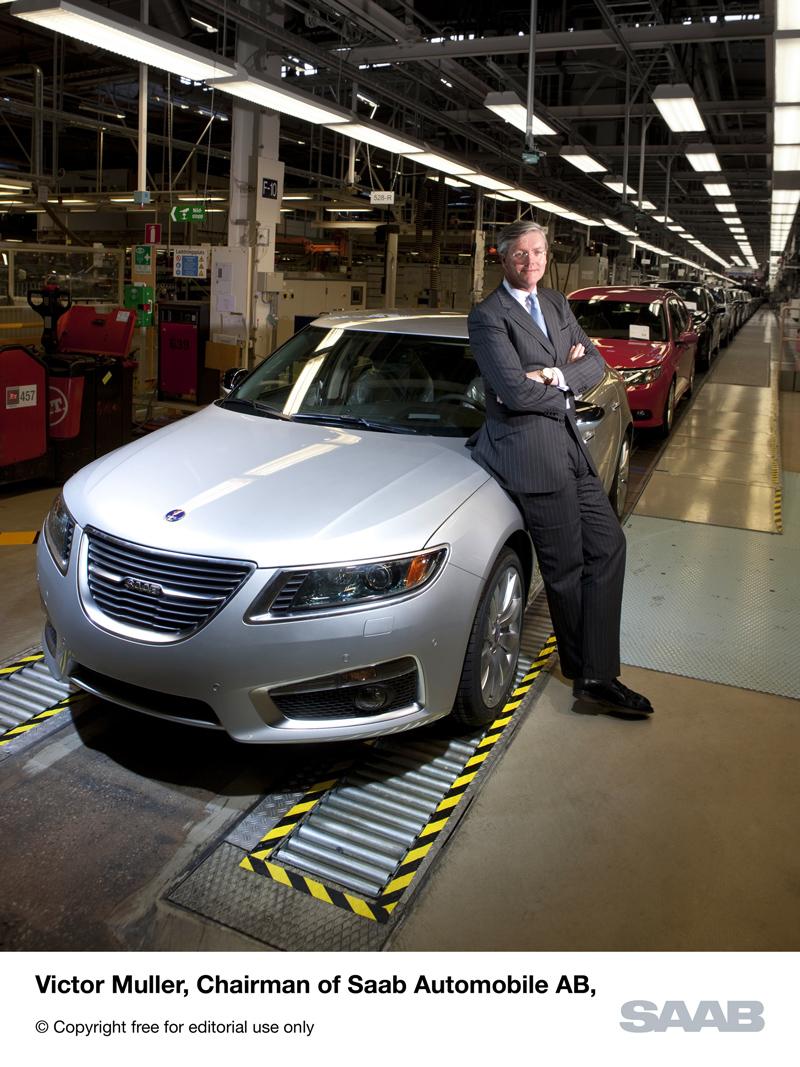 Victor Muller, CEO de Saab -entrevista-