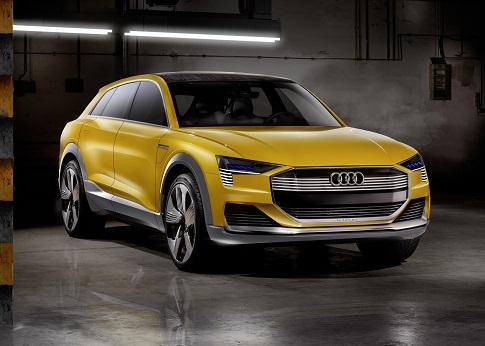 Audi H-Tron Quattro Concept, avanzando hacia el hidrógeno