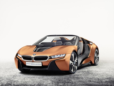 BMW i Future Vision Interaction, el i8 cabrio supertecnológico