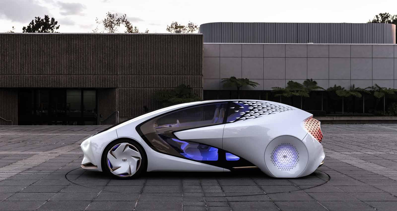 Toyota presenta el revolucionario Concept-i en el CES de Las Vegas