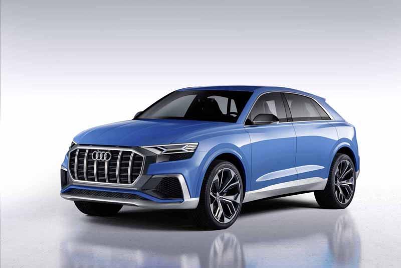 Audi muestra en Detroit las líneas maestras de su próximo SUV de gran tamaño