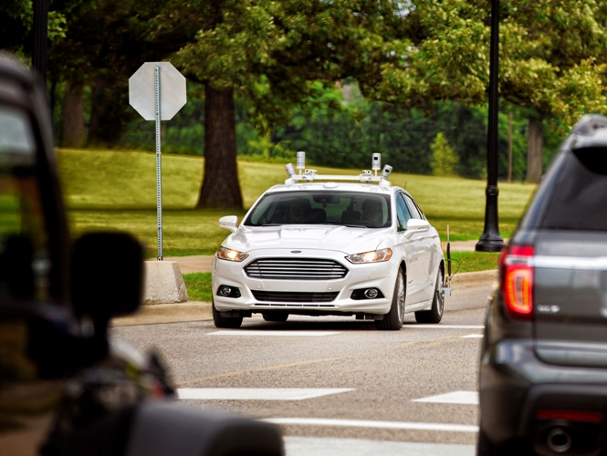 Ford anuncia para 2021 un vehículo autónomo de gran volumen