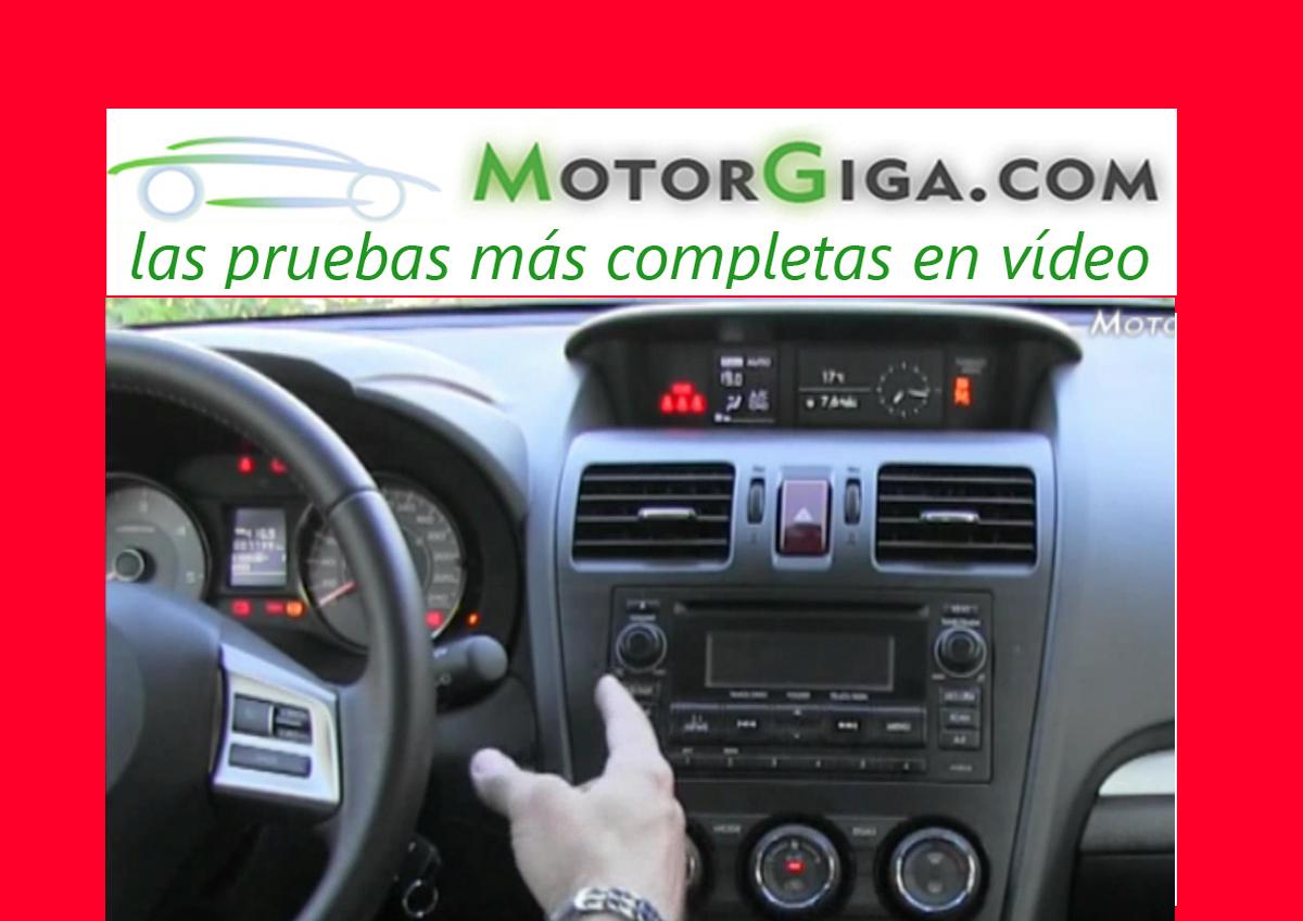 Subaru Forester, análisis plazas delanteras