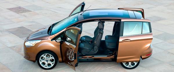 Ford B-Max, an�lisis plazas delanteras